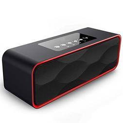 Portable Travel Wireless Bluetooth Speaker,XPLUS Stereo Stro