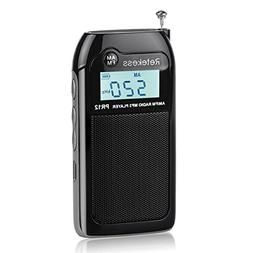 Retekess PR12 Portable Radio AM FM Transistor Radio Walkman