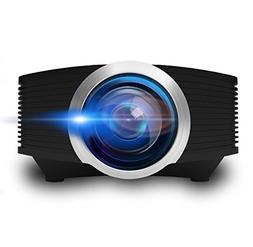 Video Projector, ERISAN Mini Portable Beam Proyetor for Home