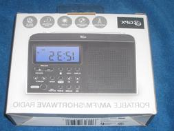 GPX R616W  Portable 6-Band Shortwave AM/FM Radio