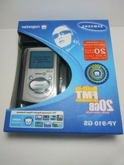 Rare Vintage SAMSUNG Napster 20GB MP3 Digital Audio Player Y