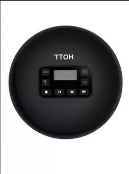 HOTT CD-711 Black Rechargeable Portable Cd Player, CD711 Per