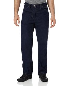 Dickies Men's Relaxed Fit Jean, Indigo Blue/Blue, 36x36