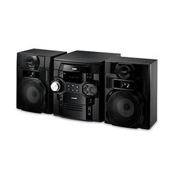 RCA RS2867B 5-CD Audio System with Bluetooth