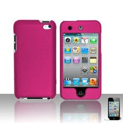 Premium Rubberized Snap-on Hard Crystal Front and Rear Case