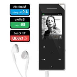 RUIZU D05 Mp3 Player with Bluetooth, Music FM Radio, Built-i