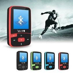 RUIZU X50 Mini MP3  Sport Player, 8GB, Bluetooth, FM Radio,