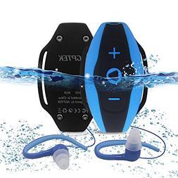 AGPtEK S05 8 GB Waterproof MP3 Player, Water Resistant Headp