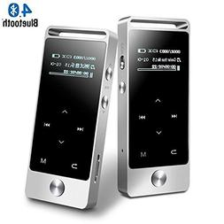 HONGYU S5B 8GB Mini MP3 Player with Bluetooth ,Lossless Soun