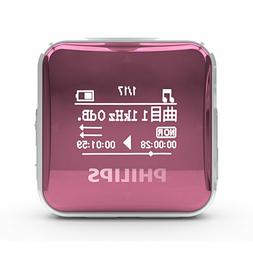 Philips SA2208 Pink Digital MP3 player 8GB