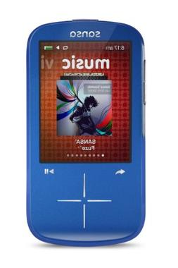 SanDisk SDMX20R-004GK-C57 Sansa Fuze+ MP3 Player - Blue