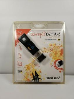 SanDisk SANSA EXPRESS 1GB USB MP3 Player, new in package!