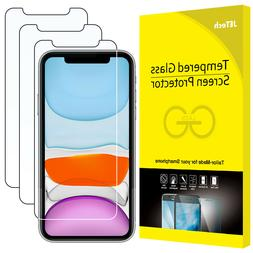JETech Screen Protector for iPhone 11 and iPhone XR Tempered