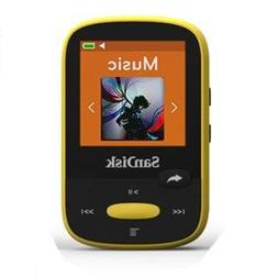 SanDisk SDMX24-008G-A46Y Clip Sport 8GB MP3 Player Ylw