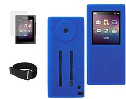 Silicone Case with Screen Protector and Free Armband for Son