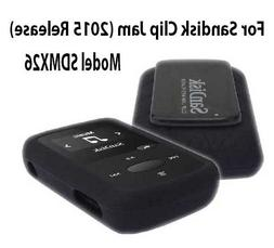 Silicone Skin Case Cover For SanDisk Clip Jam MP3 Player 201