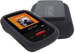 Silicone Skin Case Cover For SanDisk Clip Sport MP3 Player ,