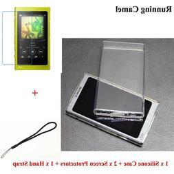 Soft TPU Case For Sony Walkman NW A45 A47 A35 A36 Screen Pro