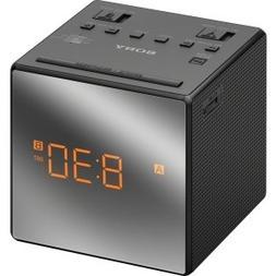 Sony Clock Radio - 0.1 W RMS - Mono - 2 x Alarm - AM, FM - M