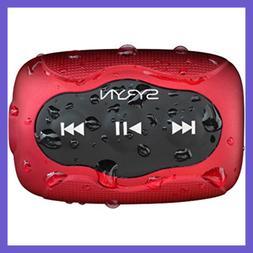 Sport Headphones & 8 GB SYRYN Waterproof MP3 Player W Shuffl