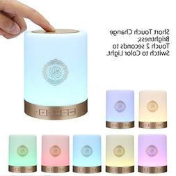SQ112 Quran Smart Touch LED Lamp Bluetooth Speaker with Remo