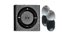 Swim iPOD Shuffle MP3 Player & Buds 100% Waterproof Space Gr