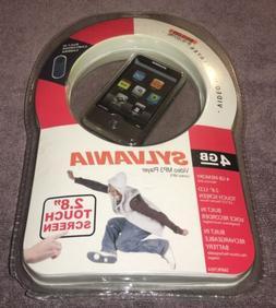"""Sylvania 4gb Video Mp3 Player Smpk7954 2.8"""" Touchscreen"""