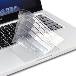 TopCase Transparent TPU Keyboard Cover Skin for Macbook Air