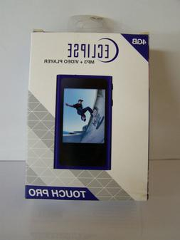 """Eclipse Touch Pro MP3 Player +Video 4 GB Colbalt 2.4"""" Touch"""