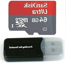 SanDisk Ultra 64GB MicroSDXC Memory Card for LG G3 Smartphon