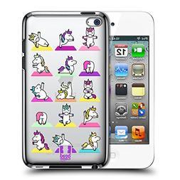 Head Case Designs Unicorn Yoga Animals 2 Hard Back Case for