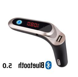 Universal Bluetooth Car Charger MP3 Player FM Transmitter fo