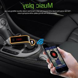 Universal Car Bluetooth FM Transmitter MP3 Radio Player USB