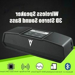 US Portable Wireless Bluetooth Speaker USB Flash FM Radio St