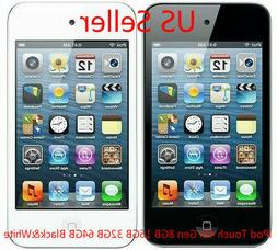 US SELLER NEW iPod Touch 4th Gen Black White 8GB 16GB 32GB 6