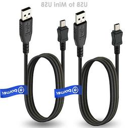 2 x pcs USB Cable for Philips GoGear MP3 Player Opus Replace