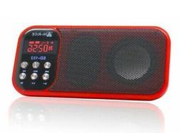 USB/TF Card MP3 Player Portable FM Radio Digital Speaker W/