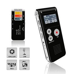 Voice Recorder, Digital Voice Recorder, HD Rechargeable Mult