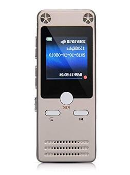 Digital Voice Recorder 8GB Voice Activated Recorder Dictapho