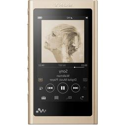 SONY Walkman A Series 64GB NW-A57 Audio Player Hi-Res Gold E