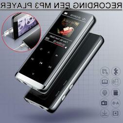 Walkman Bluetooth 4.2 HIFI MP3 Player FM Lossless Recording