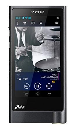 Sony Walkman NW-ZX2 128 GB Black Flash Portable Media Player