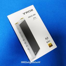 Sony Walkman NW-ZX300 -Silver 64GB Digital Media Player 12 L