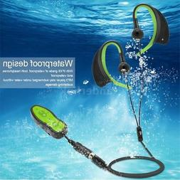 Waterproof 8GB MP3 Music Player + Headphone Clip Underwater