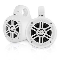 Waterproof Marine Wakeboard Tower Speakers - 4 Inch Dual Sub