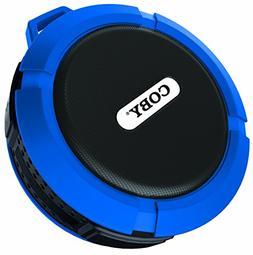 Coby Waterproof Speaker, Shower Speaker,IPX5, Wireless Porta