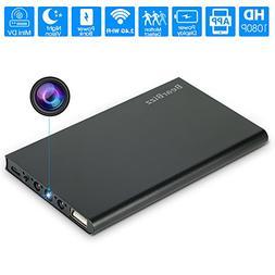 Spy Camera Wireless Hidden Camera WiFi, BearBizz Mini HD 108