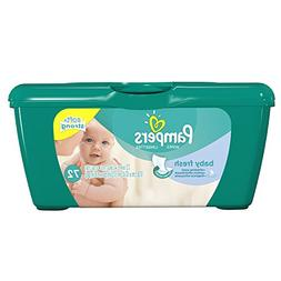 Pampers Baby Wipes Baby Fresh Tub, 72 Count