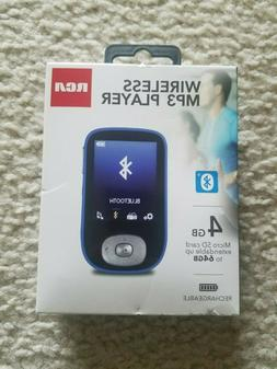 RCA Wireless 4GB MP3 Player MBT0004 Brand New Free Ship