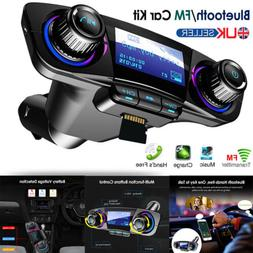 Wireless Bluetooth Car MP3 Player FM Transmitter Radio LCD S